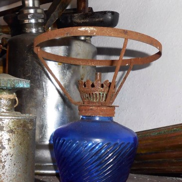 Kinke azul de Antigüedades Canarias