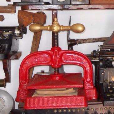 Prensa de Libros  Antigüedades Canarias