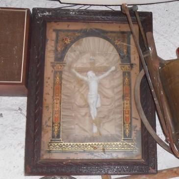 Cuadro del Cristo de Antigüedades Canarias